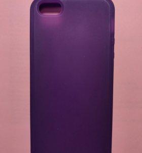 Силиконовый чехол на iPhone 5/5S