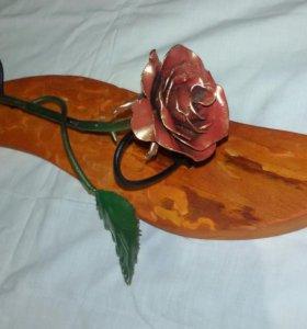 Роза кованая маленькая