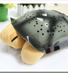 Проектор звёздного неба (ночник) - черепаха. Новый