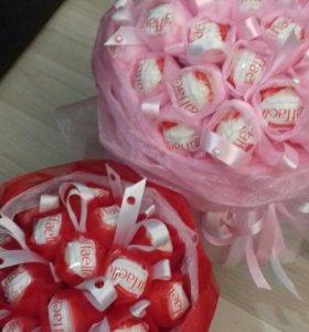Букет из конфет подарок учителю