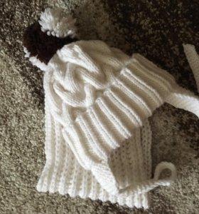 Детская шапочка.Комплекты для мамы и малыша