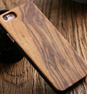 Чехол деревянных для iPhone 5/5s/SE