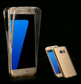 Чехол прозрачный для Samsung Galaxy 7/7 edge
