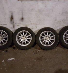 Комплект колес Nokian Nordman, R14 на литье