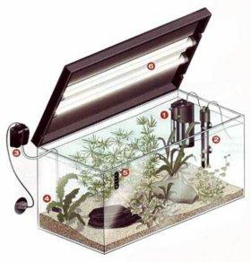 Ремонт аквариумных крышек