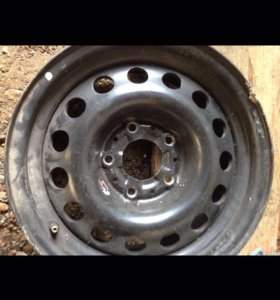 Оригинальный алюминиевый диск от BMW 525