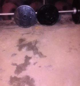 Штанга профессиональная 150 кг