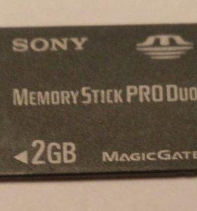 MS Pro Duo 2 Гб (подходит для PSP)