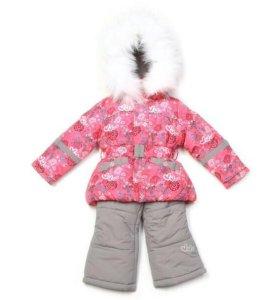 Зимний комбинезон (костюм) для девочки Kiko