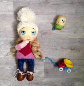 Куклы текстильные ручная работа
