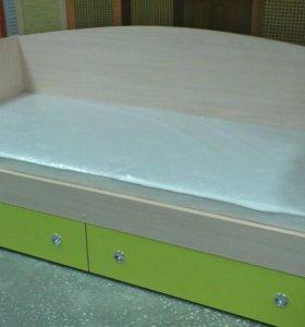 Кровать- диванчик с ящиками
