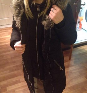 Куртка зимняя женская bershka s
