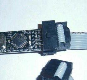 Внутрисхемный Программатор AVR usbisp