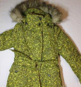Мини пальто р.122-128