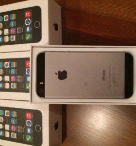 iPhone 5s цвет космос память 16 гиг