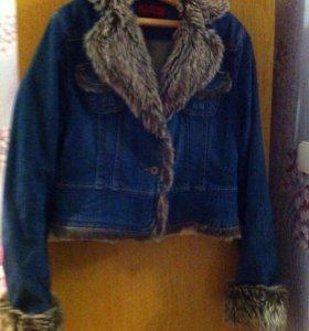 Куртка (джинсовая)