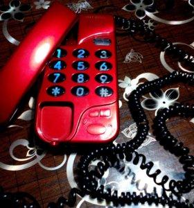 Телефон практически новый.