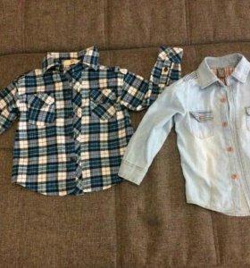 Рубашки р-р 92