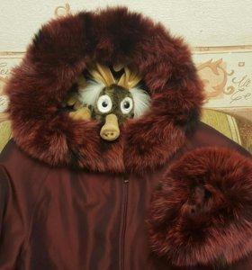 Куртка на кроличьем меху