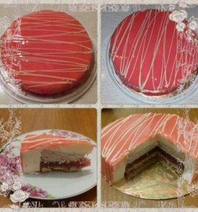 Муссовые тортики