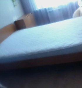 Кровать с матрасом 2спальная,торг