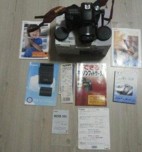 Продам фотоаппарат Canon 50D с объективом