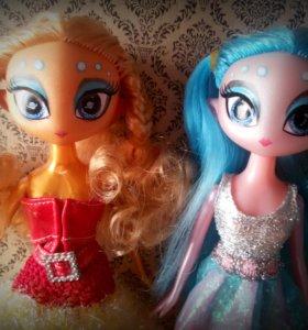 Две очень необычные Куклы Инопланетянки.