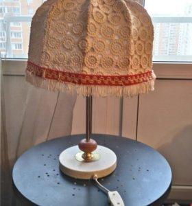 Лампа настольная кружевная трансформер