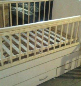 Кровать Трансформер фея 1100