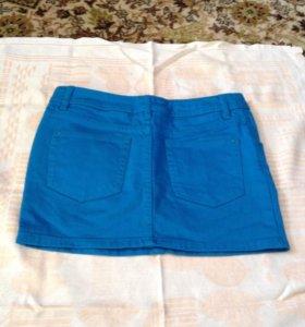 Юбка джинсовая 42 размер, новая