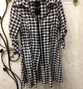 Платье-рубашка новая с этикеткой!