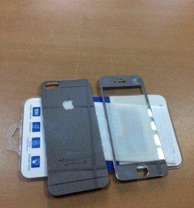 Защитные стёкла айфон 4,5,6,7
