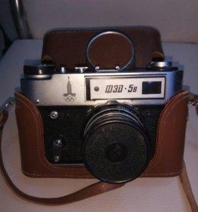Фотоаппарат Фед 5 раритет+объектив Зенит