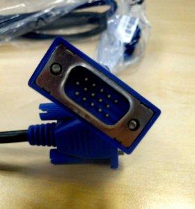 Новый Кабель VGA-VGA