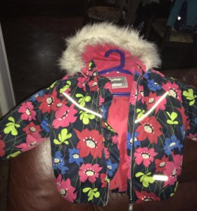 Куртка зимняя на девочку Lenne