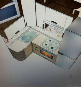 Кухонный гарнитур в хрущевку