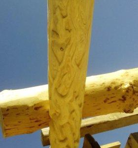 Скульптура из дерева и домовая резьба