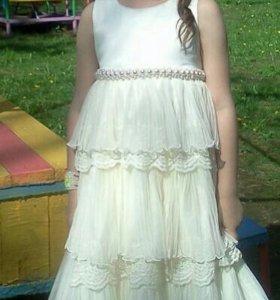 платья для девочки на выпускной