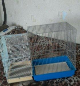 Клетка для попугаев,ТОРГ. В подарок корм попугая
