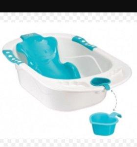 Ванночка с горкой и сливом
