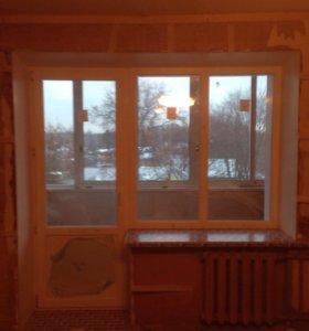 Окна ПВХ Остекления балконов