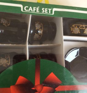 Кофейный набор новый