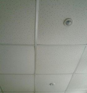 Потолок навесной плитка