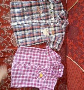 Рубашки,кофты