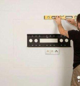 Подвес тв микроволновок и т. д. на стену