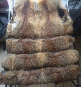 Меховая жилетка (лиса)