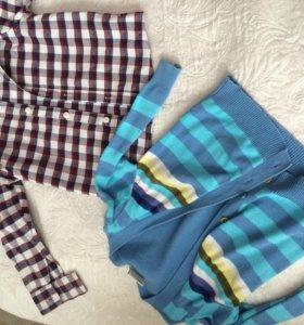 Рубашка и жакет для мальчиков 2-3 года