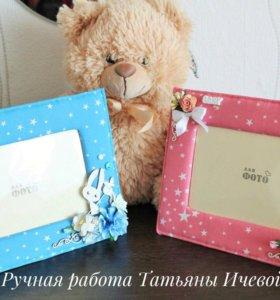 Рамочки для фото малышей