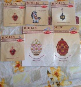 Наборы для плетения из бисера Риолис