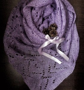 Ажурный шарфик